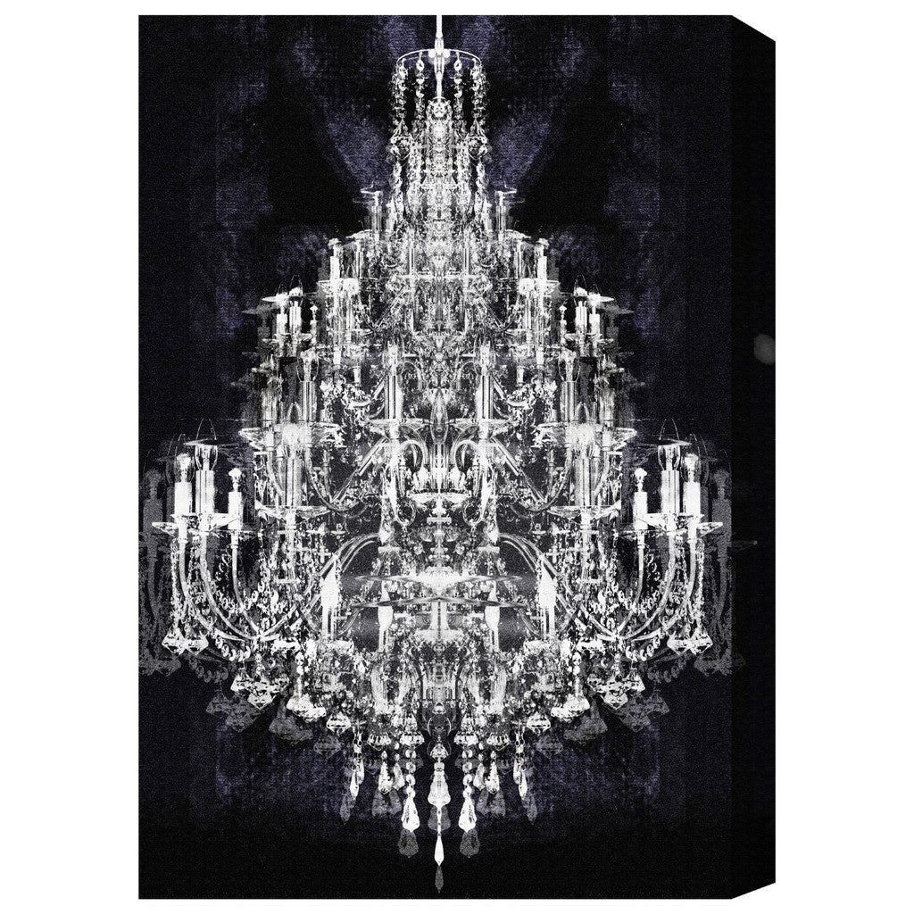 inside chandelier arts of metallic floral collection art wall monsoon canvas best