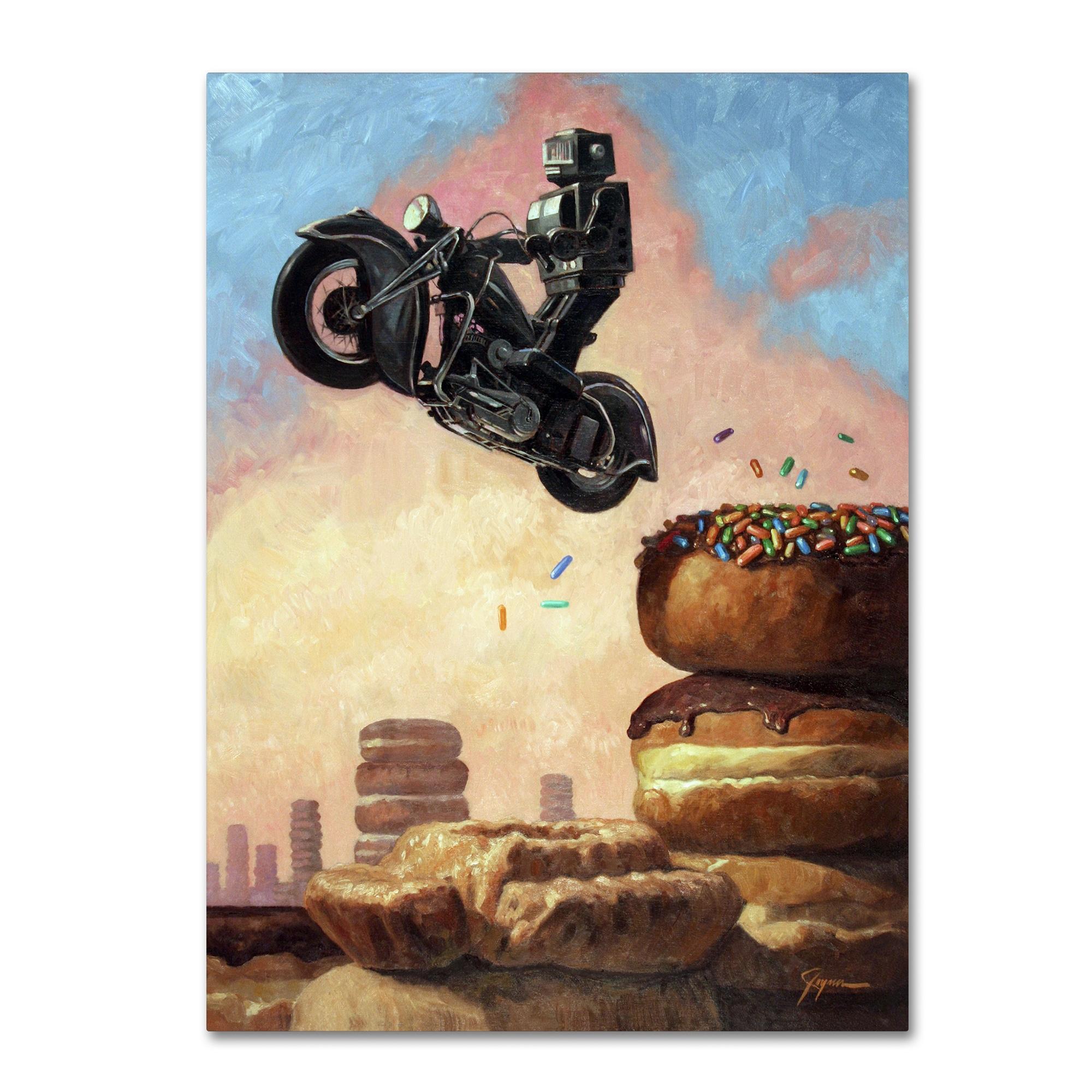 Eric Joyner \'Dark Rider Again\' Canvas Wall Art - Multi - Free ...