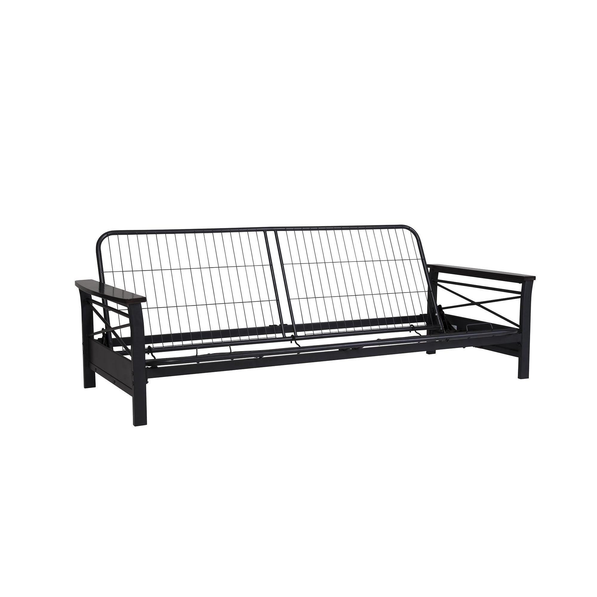 made black design metal futon bed twin awesome furniture adult frame shop well futons and for desk loft low with bedroom coaster adults beds high