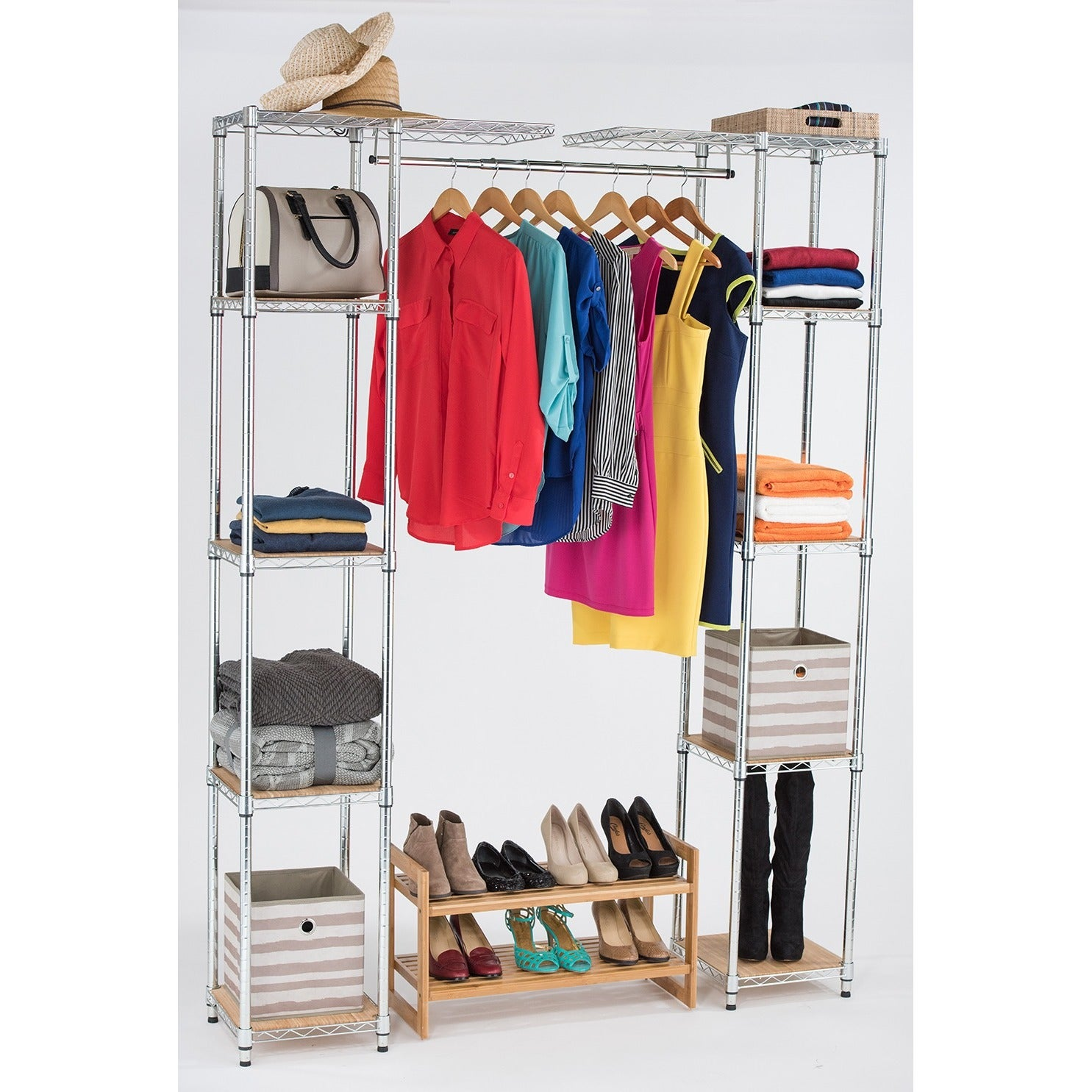 TRINITY EcoStorage Expandable Closet Organizer - Free Shipping Today -  Overstock.com - 17590162