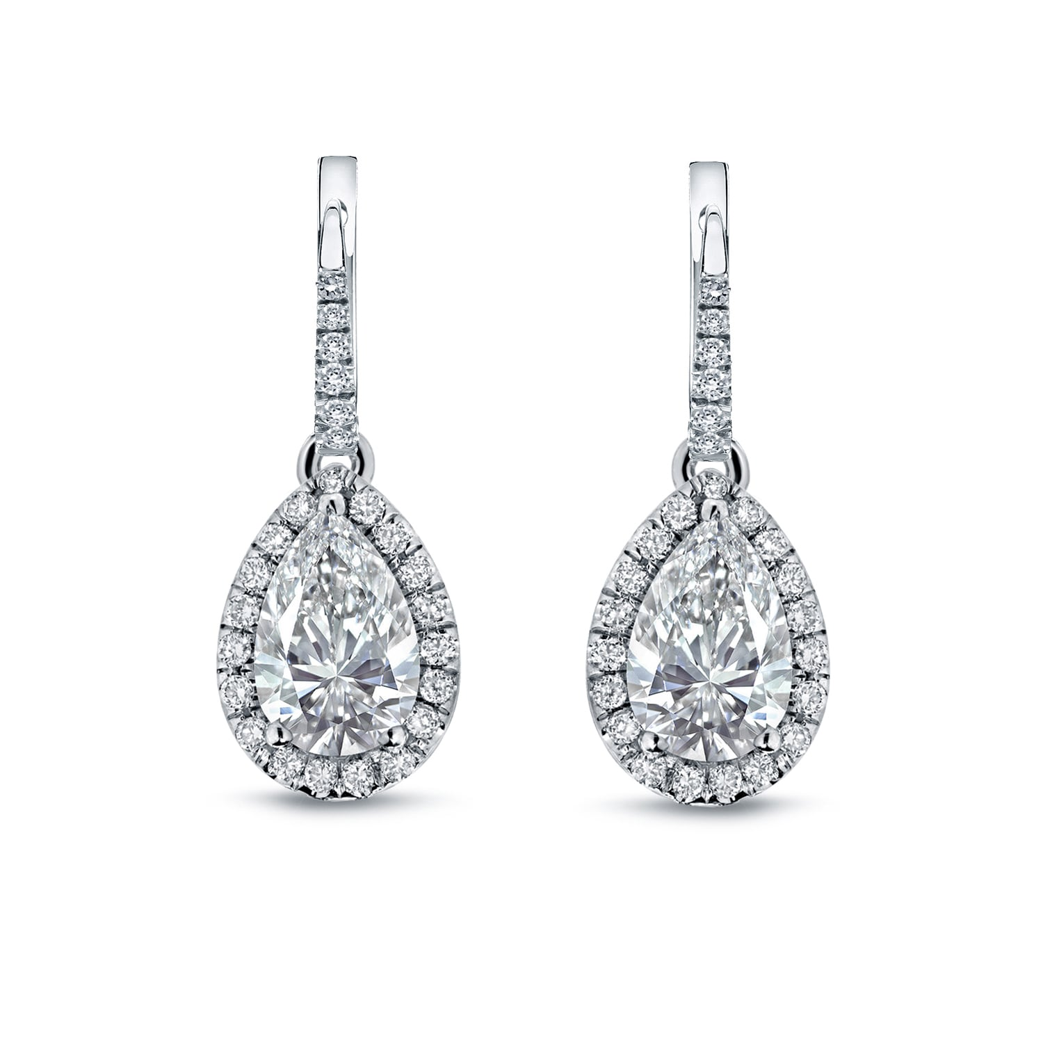 diamond stud products pear shape white open buy shaped gold earrings geometric set