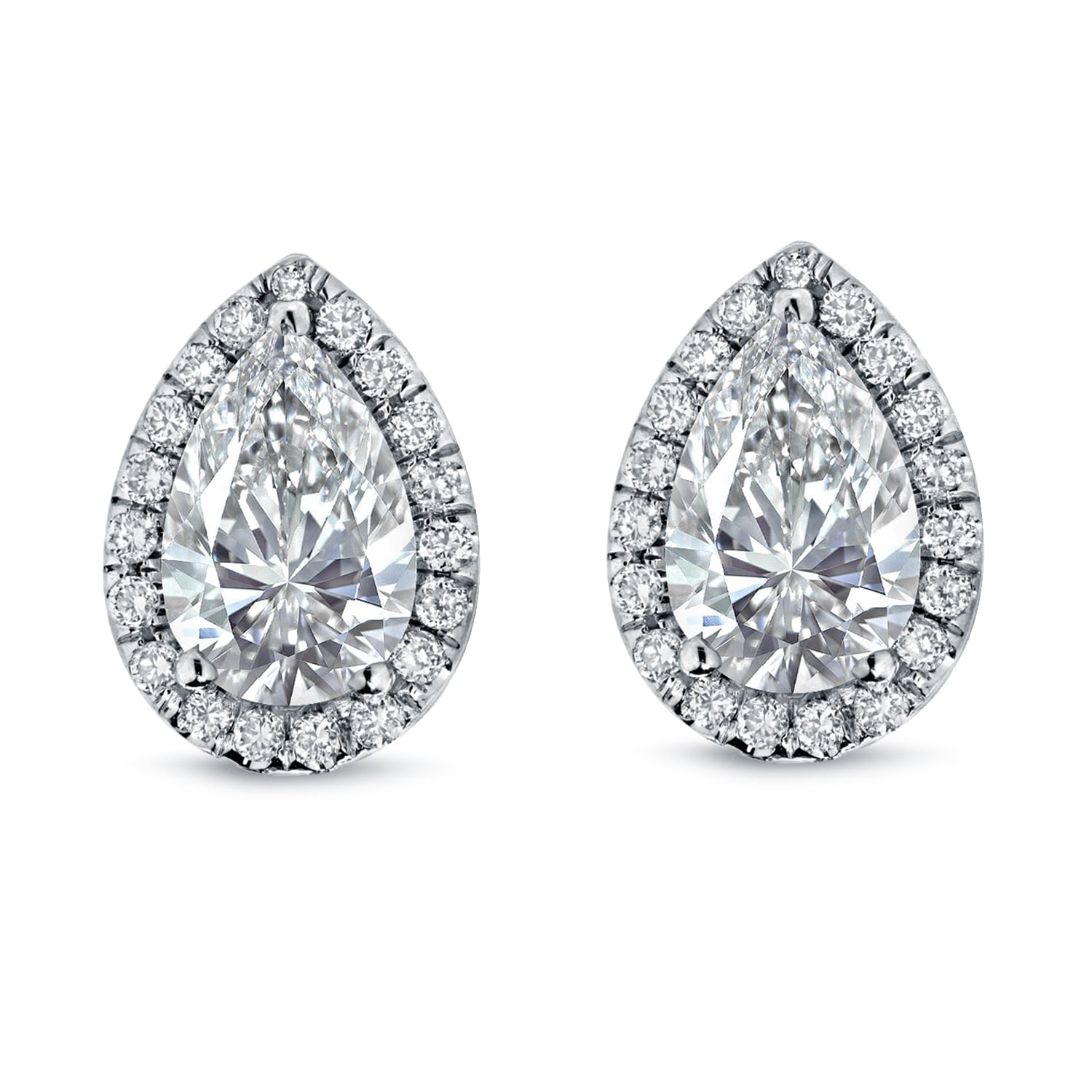 convertible j diamond earring products earrings jackets shaped inc pear a