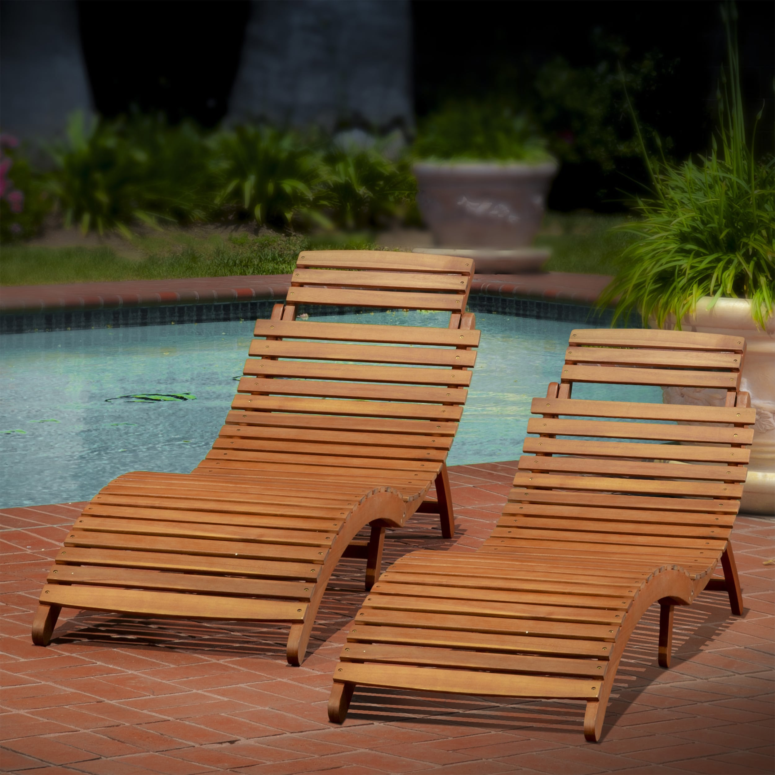 chaise hampton belleville p outdoor padded wooden lounge sling lounges bay