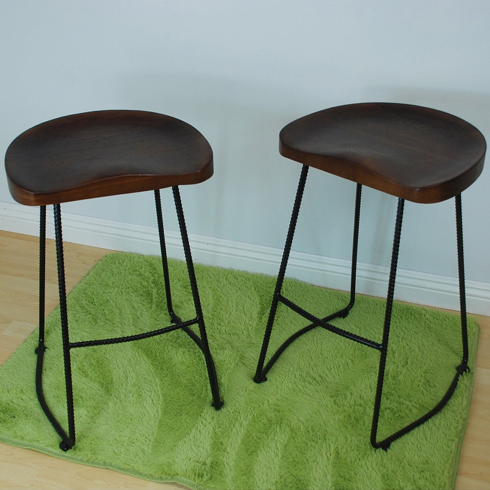 Potter Wood 26-inch High Counter Stool (Set of 2) - Free Shipping ...