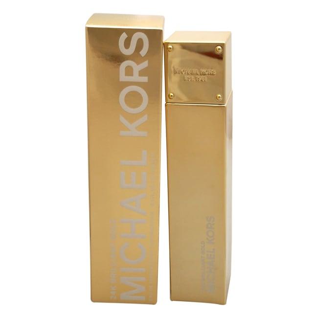 712cd363e8cf Shop Michael Kors 24K Brilliant Gold Women s 3.4-ounce Eau de Parfum ...