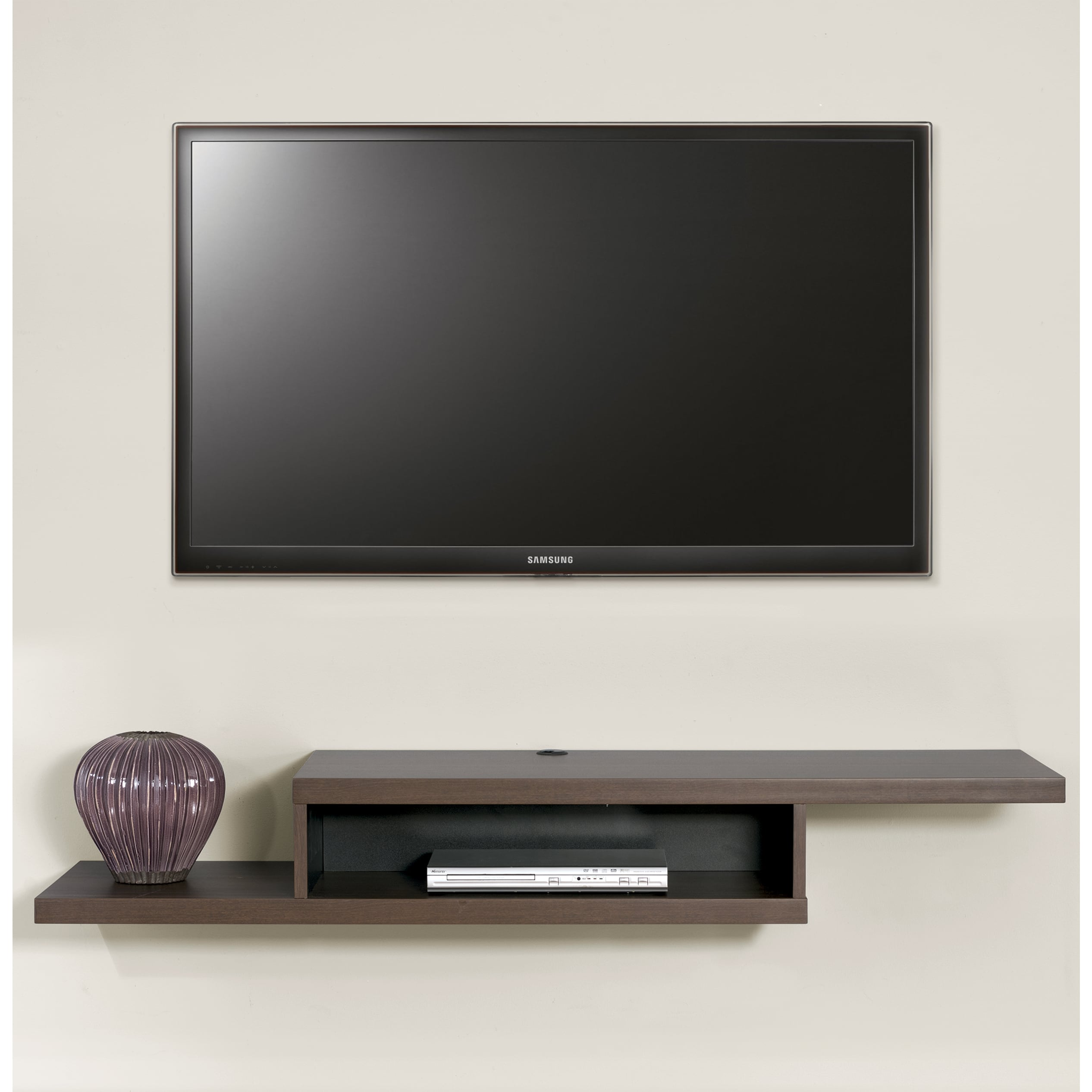Askew 60-inch Wall Mount TV Console - Free Shipping Today - Overstock.com -  17602028