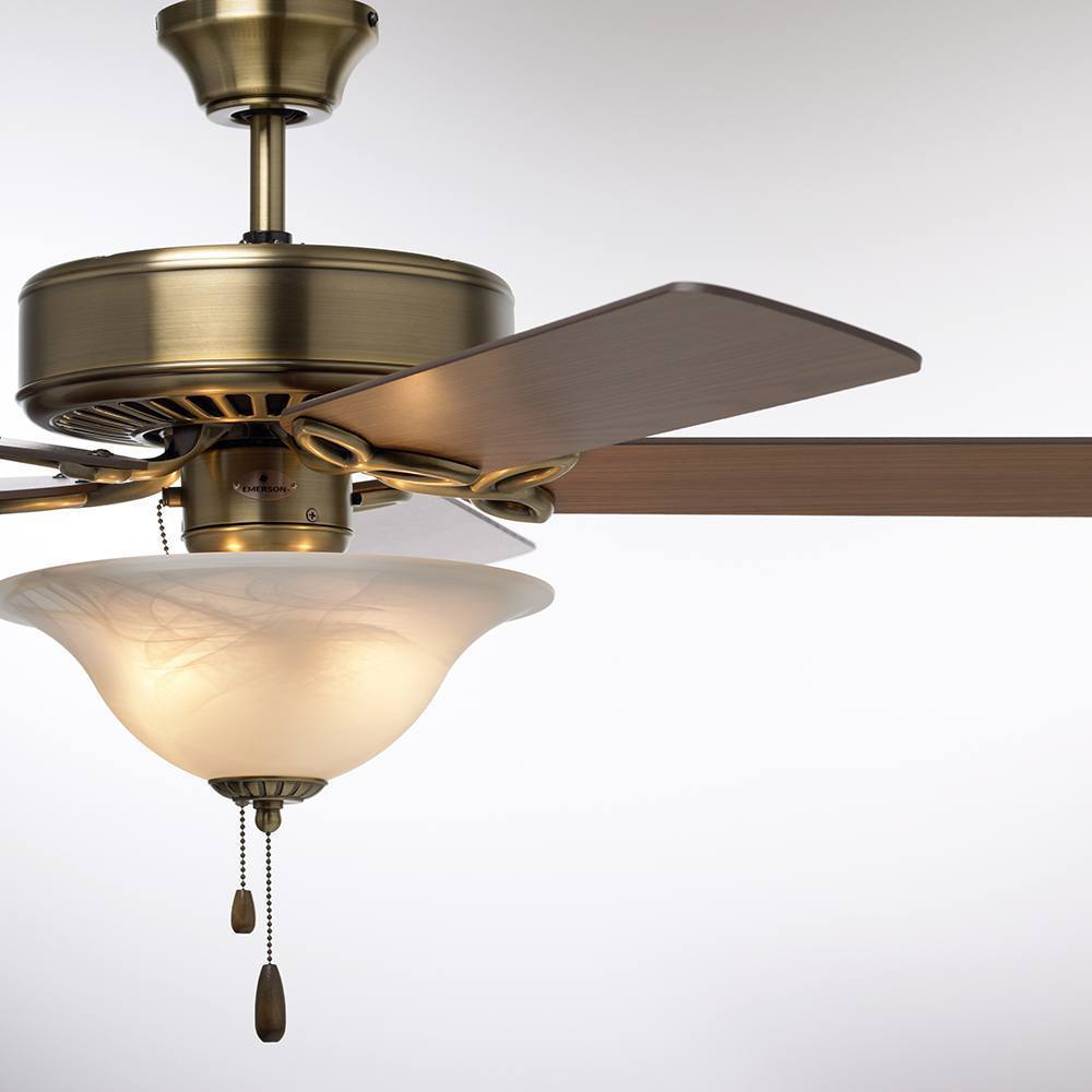 Emerson pro series 50 inch antique brass traditional ceiling fan emerson pro series 50 inch antique brass traditional ceiling fan with reversible blades free shipping today overstock 17602057 aloadofball Gallery
