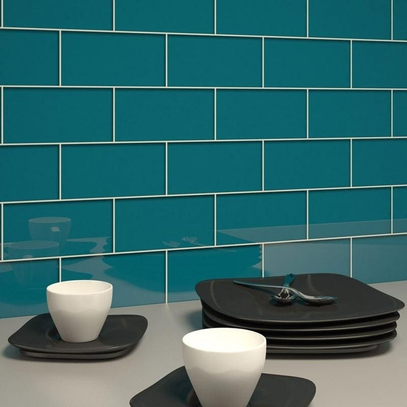 Dark Teal Subway 5 Square Foot Tiles 44 Pieces Per Unit Free Shipping On Orders Over 45 10518274