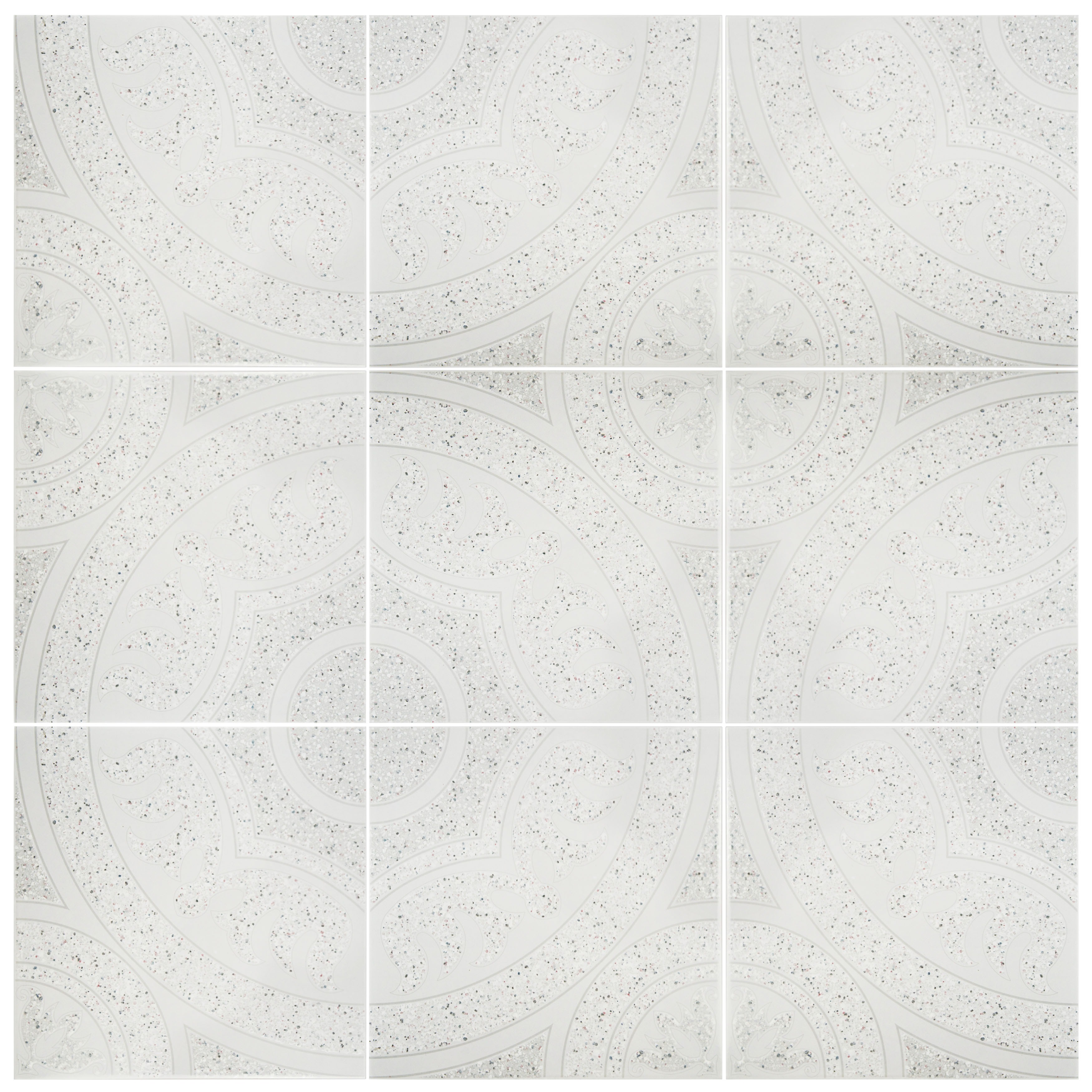 Somertile 125x125 inch casablanca gris ceramic wall tile case somertile 125x125 inch casablanca gris ceramic wall tile case of 10 free shipping today overstock 17604579 dailygadgetfo Gallery