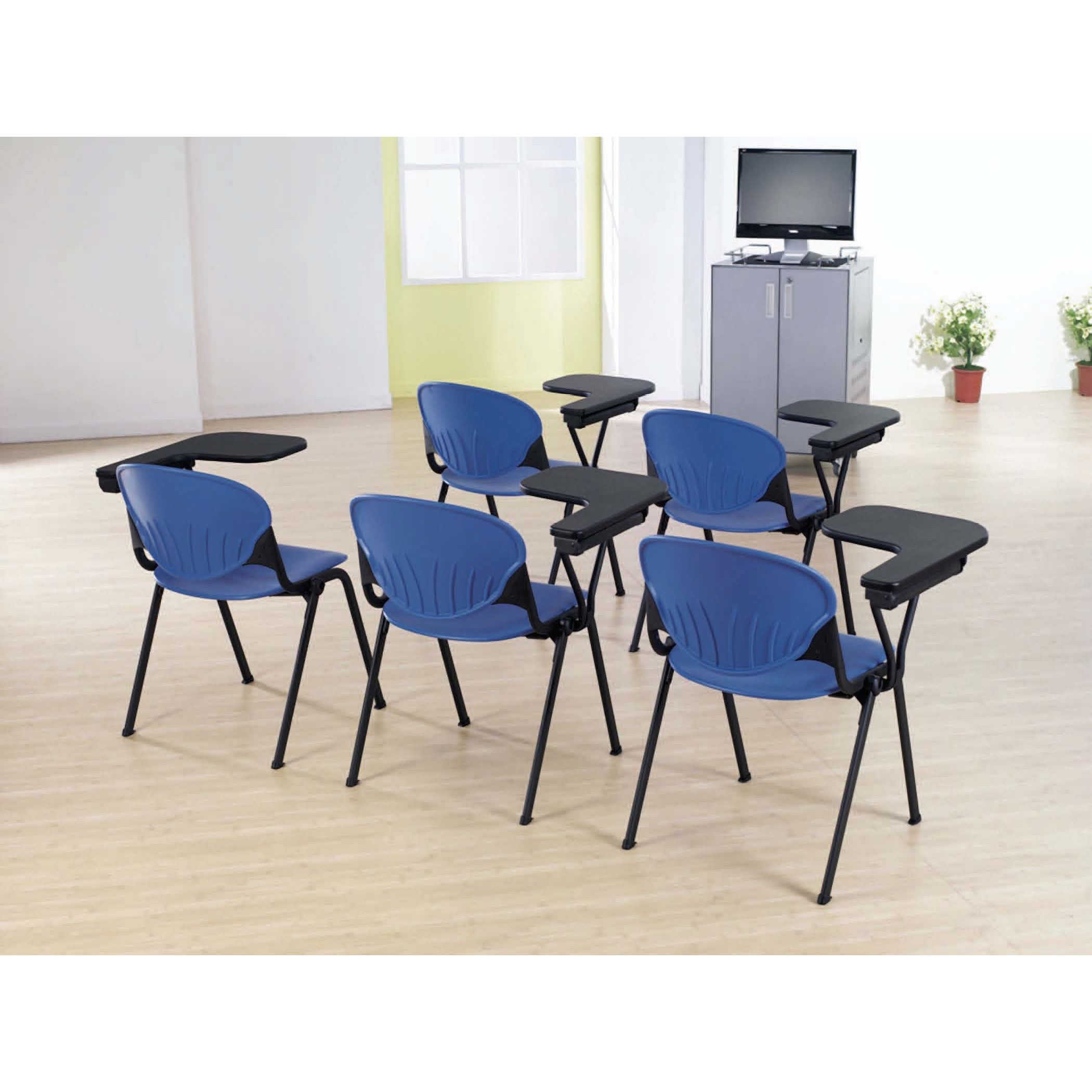 shop polypropylene stacking school chair with left writing tablet