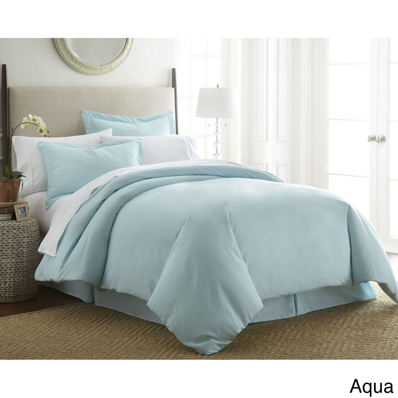 0e02e56f4695 Shop Merit Linens Ultra-soft 3-piece Duvet Cover Set - On Sale - Free  Shipping On Orders Over  45 - Overstock - 10523124