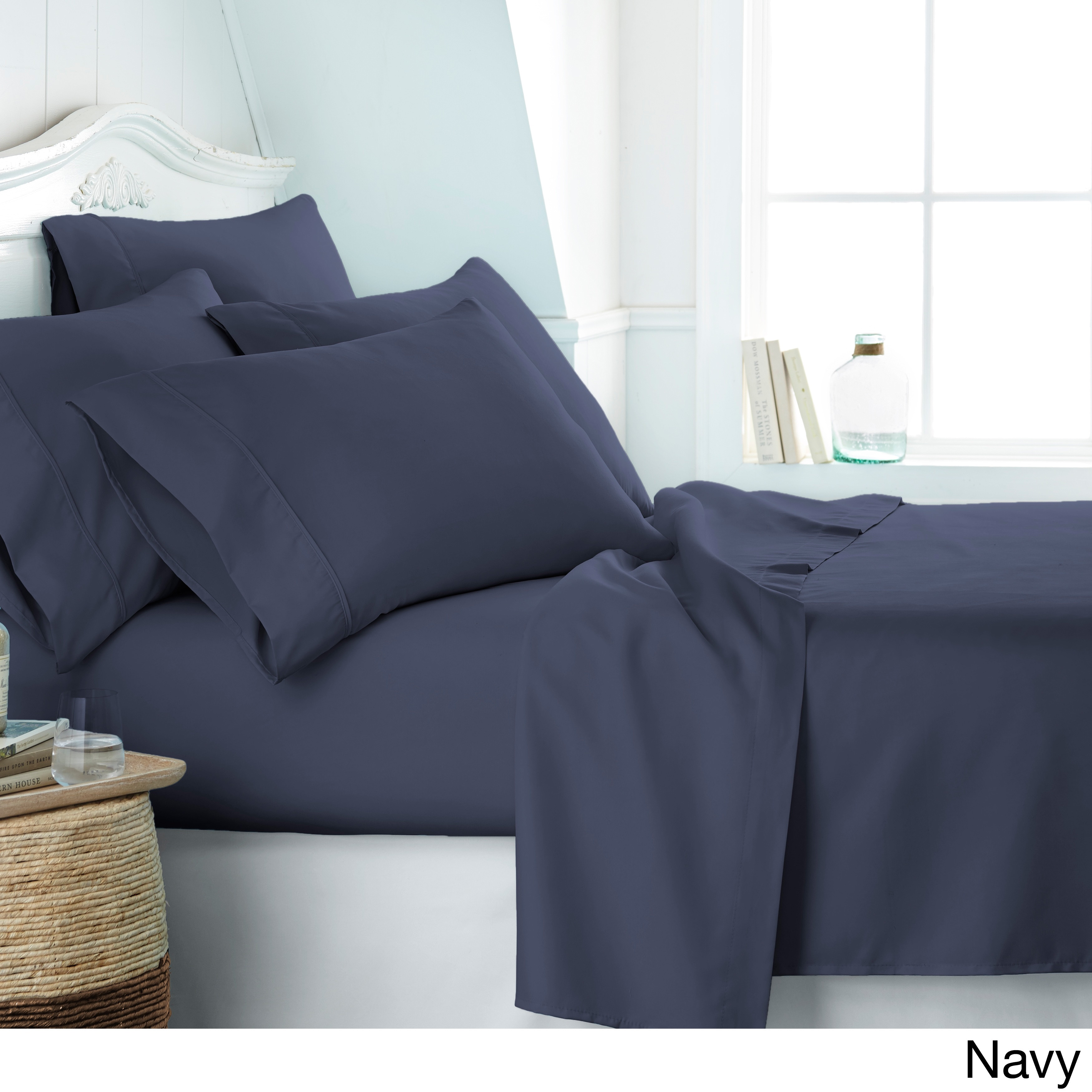 Soft Essentials Ultra 6 Piece Deep Pocket Bed Sheet Set On Free Shipping Orders Over 45 10527867