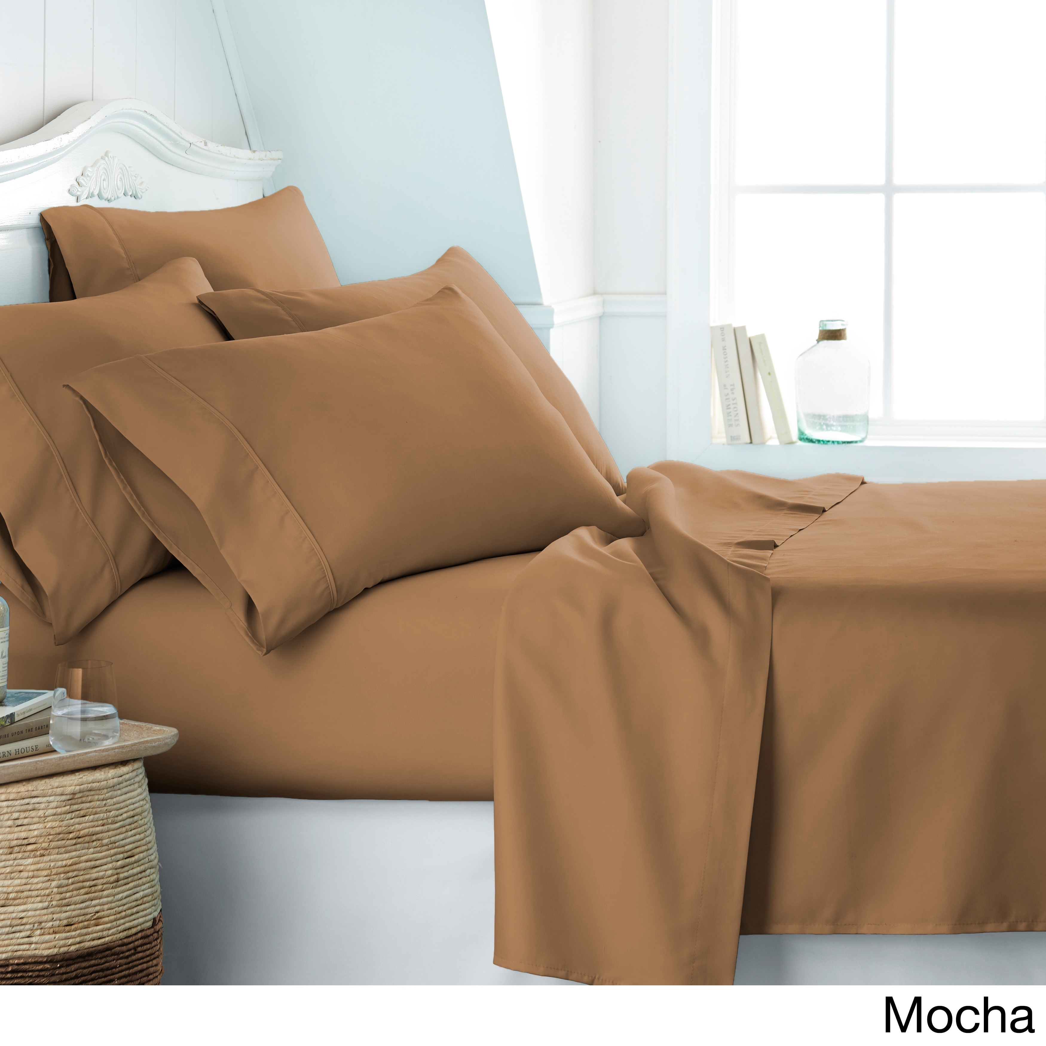 44084f6253 Shop Soft Essentials Ultra-soft 6-piece Deep Pocket Bed Sheet Set - On Sale  - Free Shipping On Orders Over $45 - Overstock - 10527867
