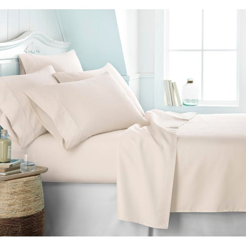 Shop Soft Essentials Ultra Soft 6 Piece Deep Pocket Bed Sheet Set   On Sale    Free Shipping On Orders Over $45   Overstock.com   10527867