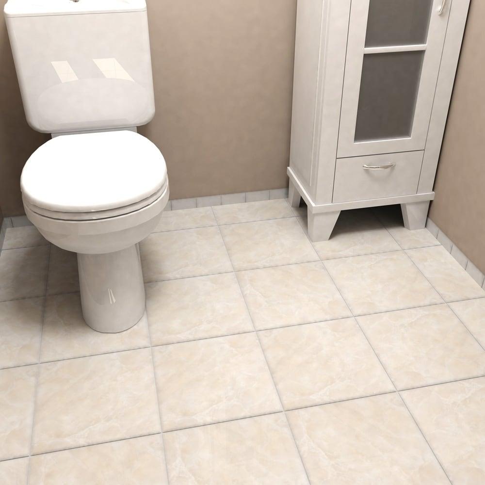 Shop SomerTile 11.75x11.75-inch Zeta Beige Ceramic Floor and Wall ...