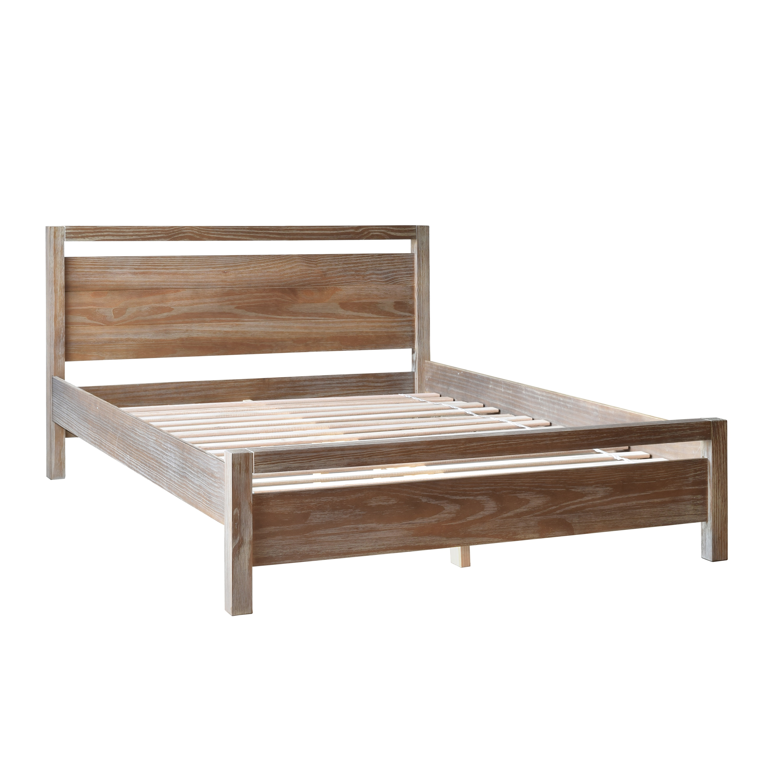 Shop Grain Wood Furniture Loft Solid Wood Queen-size Panel Platform ...