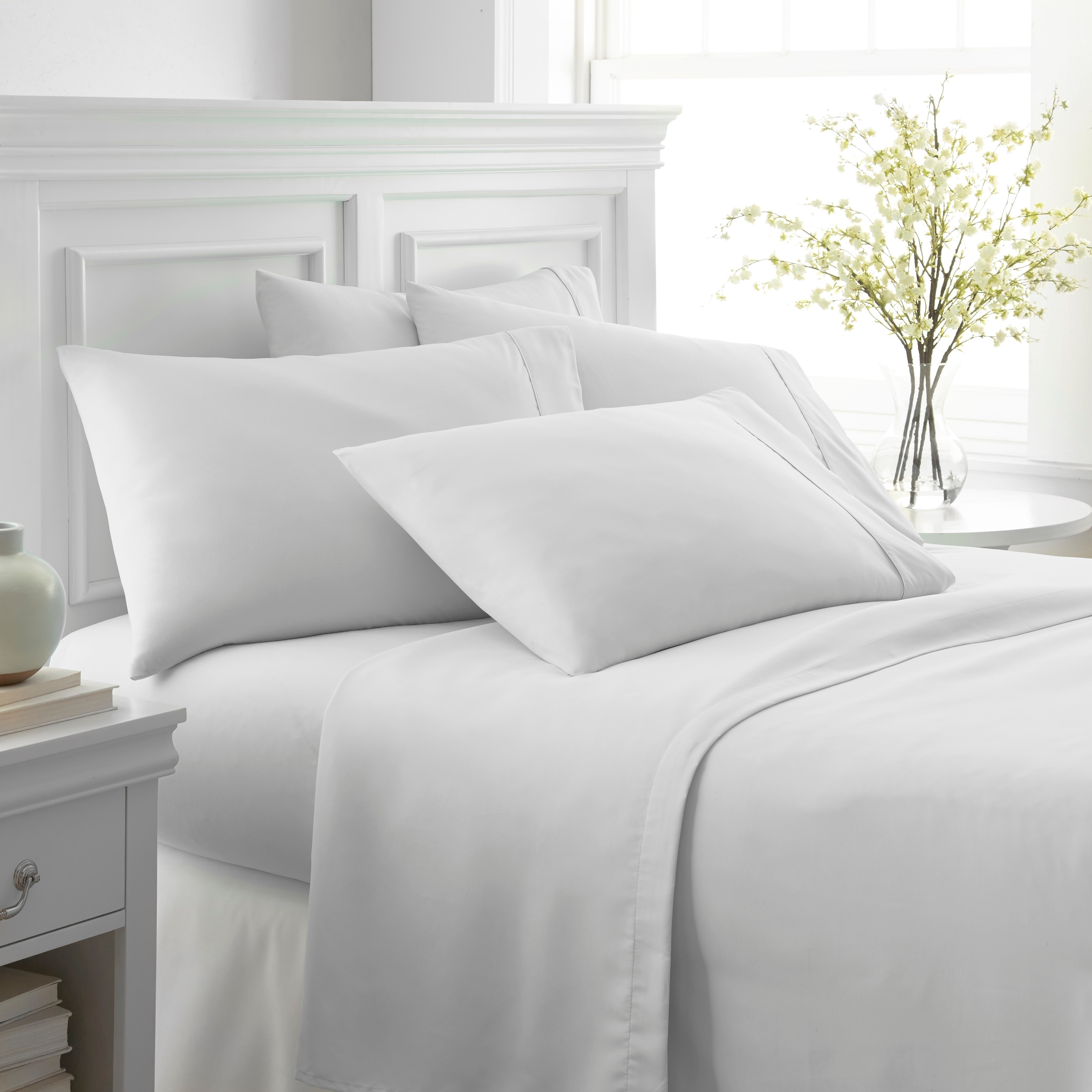 Merit Linens Ultra Soft 6 Piece Bed Sheet Set On Free Shipping Orders Over 45 10529098
