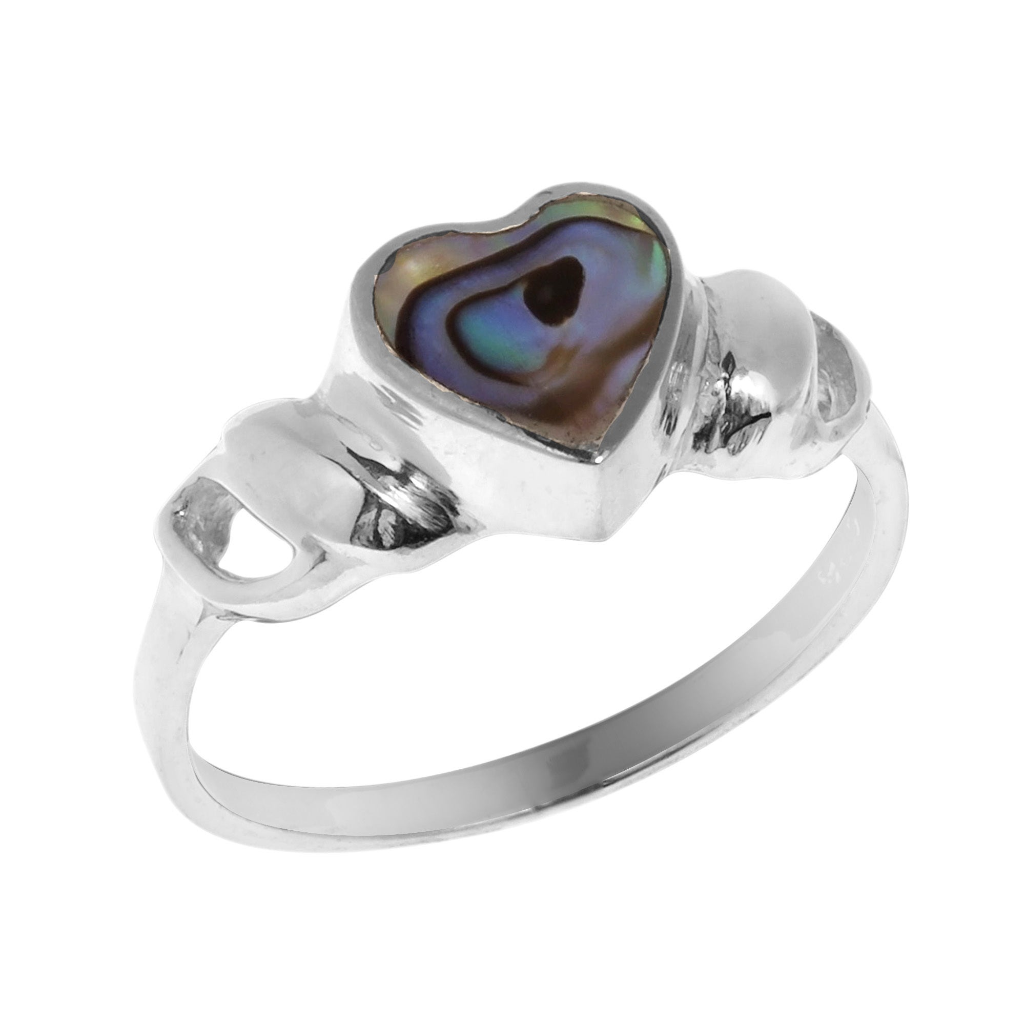 hatteras gallery shell normal gold in engagement metallic rings jewelry ring lyst kelly product wearstler abalone