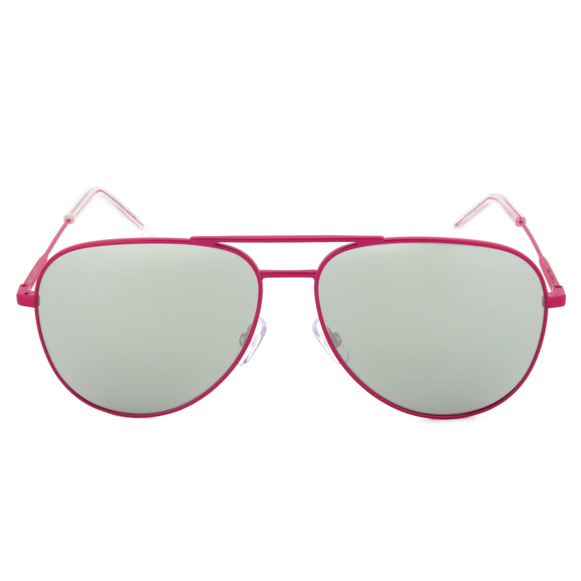 c69eb39641 Shop Yves Saint Laurent Paris YSL Classic 11 28KJ5 Aviator Sunglasses with  Fuchsia Frame and Silver Mirro - Free Shipping Today - Overstock.com -  10533135