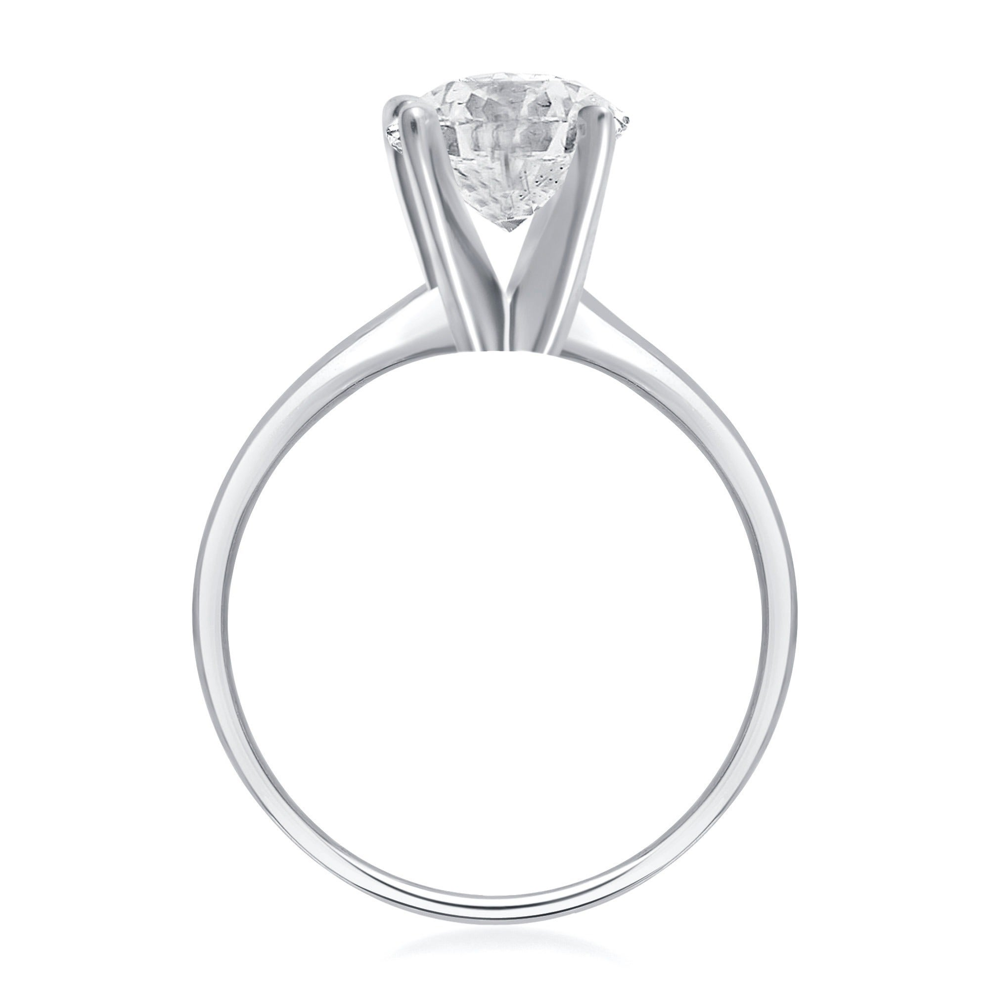 platinum engagement ring rings cartier solitaire diamond