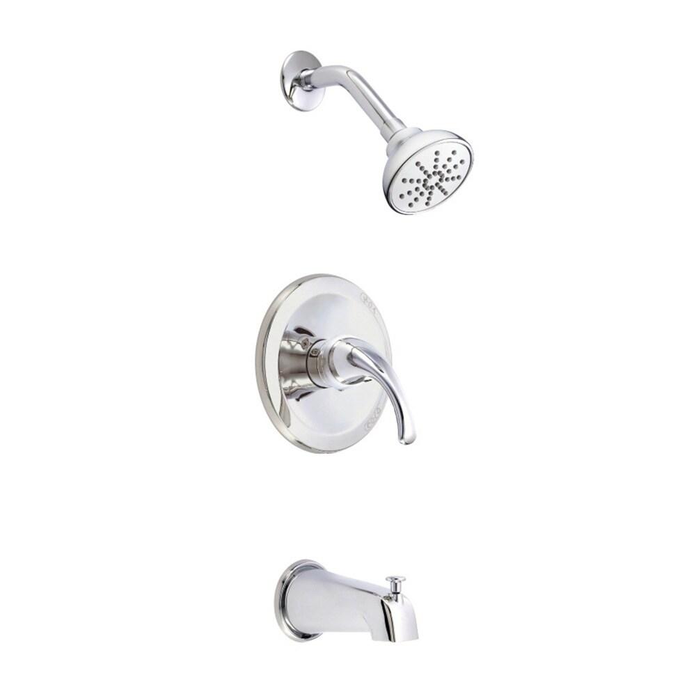 Shop Danze D500011T Chrome Melrose Tub and Shower Faucet - Free ...