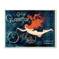 Georges Massias 'Cycles Gladiator' Canvas Wall Art