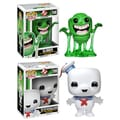 Funko Ghostbusters Pop Movies Vinyl Collectors Set with Slimer and 6-inch Stay Puft Man