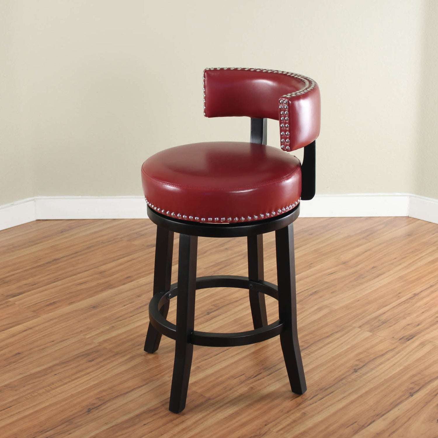 toronto star backless back with stools australia galaxy red bar office stool fauxather arms dark leather barstools canada