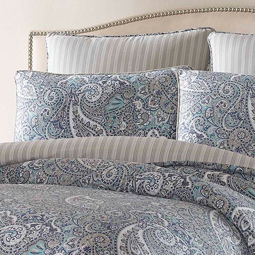 Shop Stone Cottage Lancaster Cotton Sateen Duvet Cover Set   On Sale   Free  Shipping Today   Overstock.com   10536105