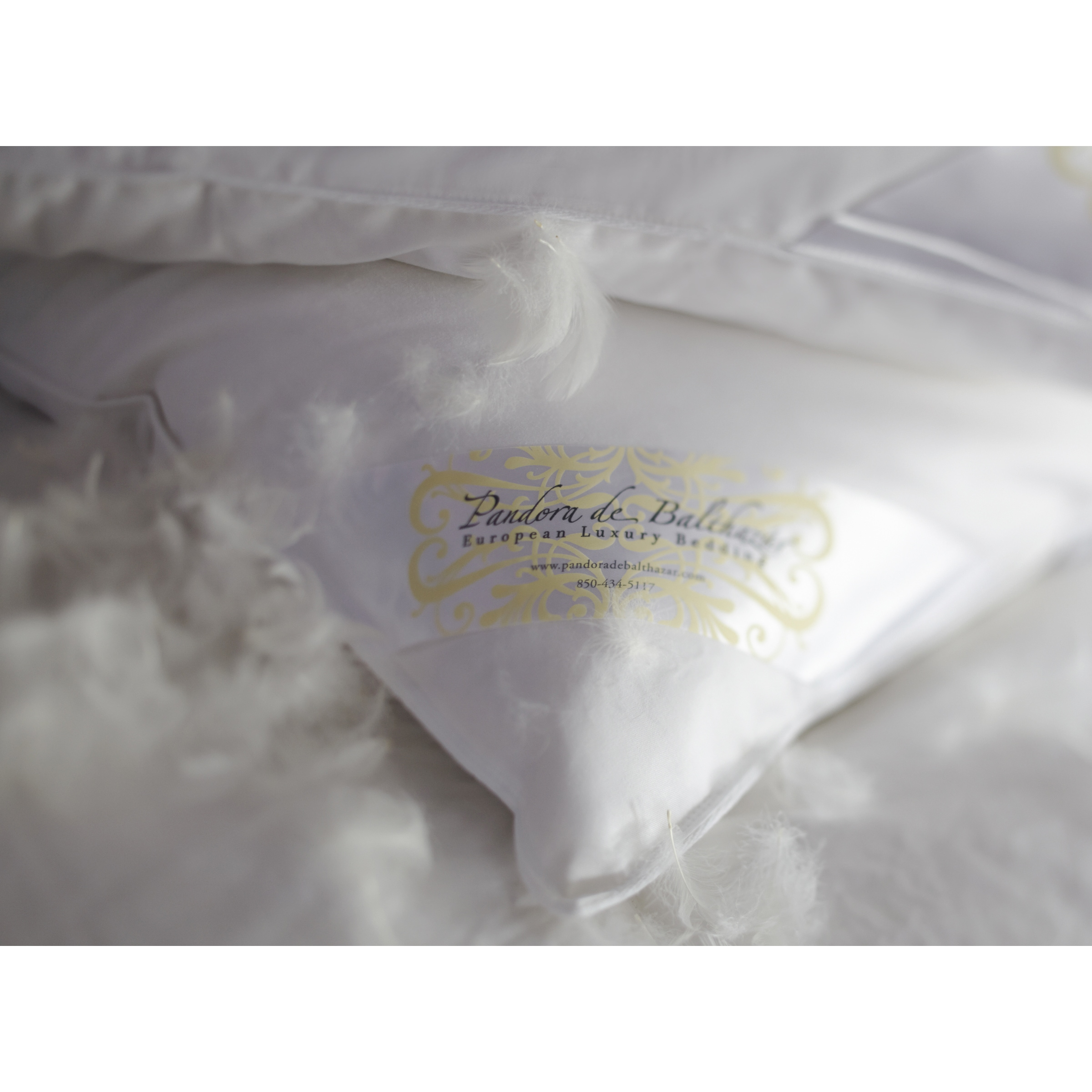 comforter hungarian eurostandard pandora de feather balthazar overstock goose bedding european pillow product shipping bath and soft today down free