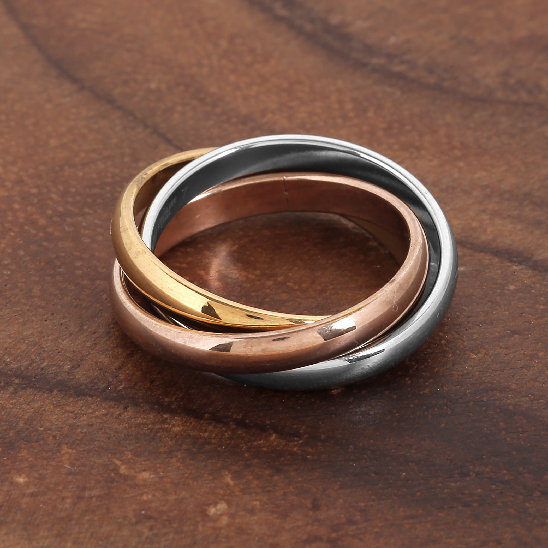 accessorize coper unique pin ring peace rings copper pinterest