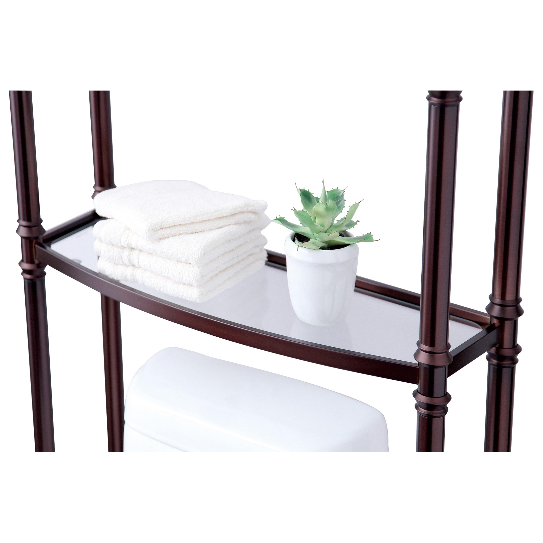 Best Living Monaco Oil Rubbed Bronze Bath Etagere E Saver Shelf Free Shipping Today 10539962