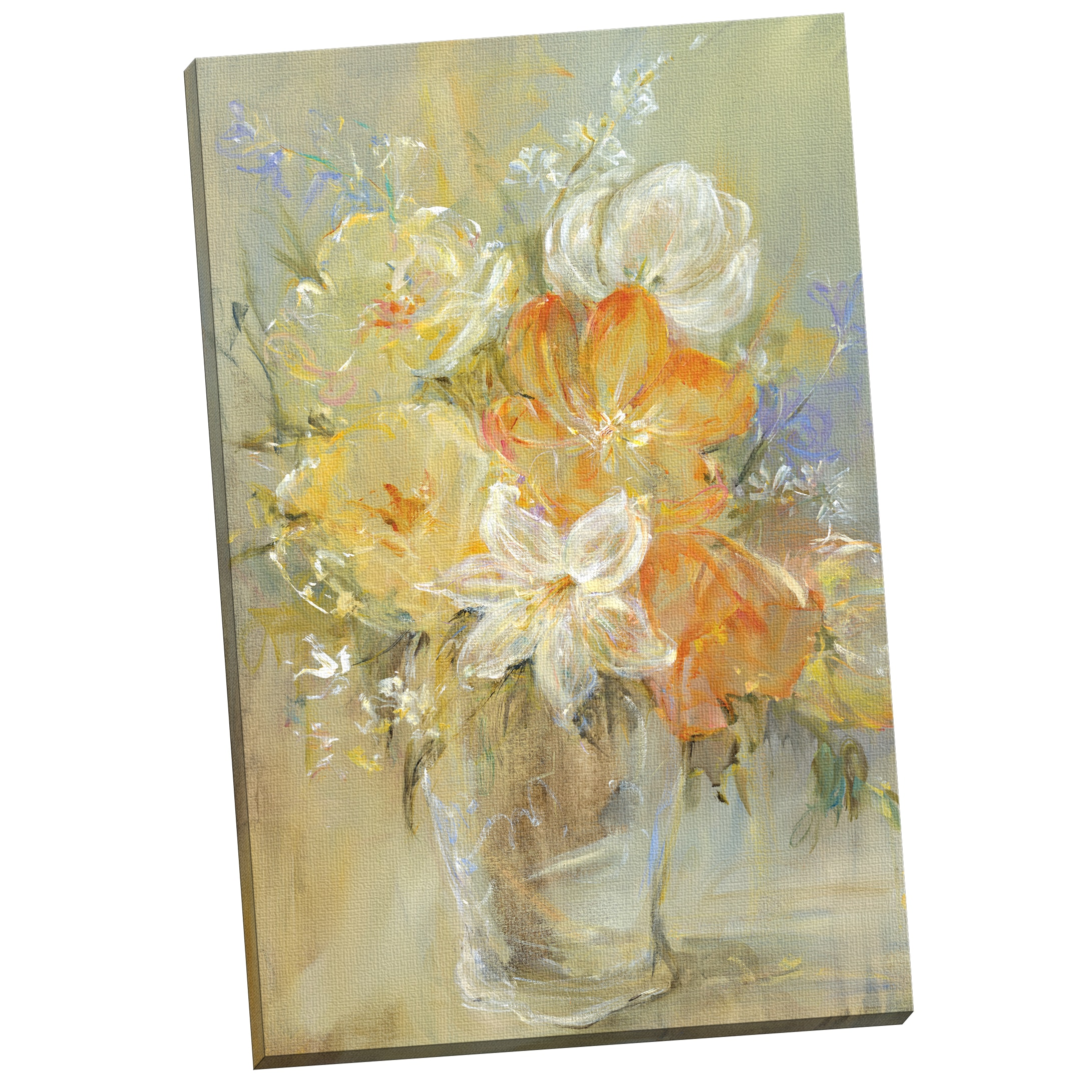 Portfolio Canvas Decor \'Soft Flowers\' Carson 24-inch x 36-inch ...