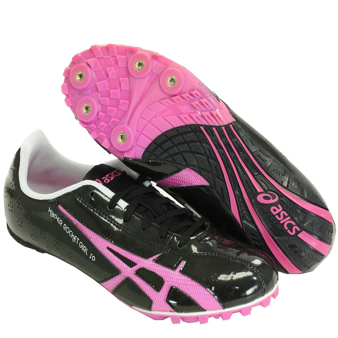 31b0833d3f3f Shop ASICS G953Y 9021 Womens Hyper Rocket Girl SP3 Track Spikes Black    Raspberry - Free Shipping On Orders Over  45 - Overstock - 10541935