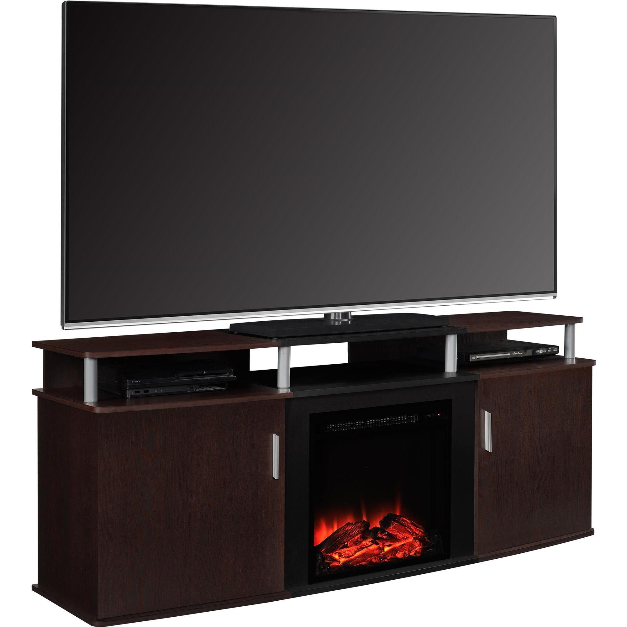 console country town tv electric bryant furniture fireplace shop