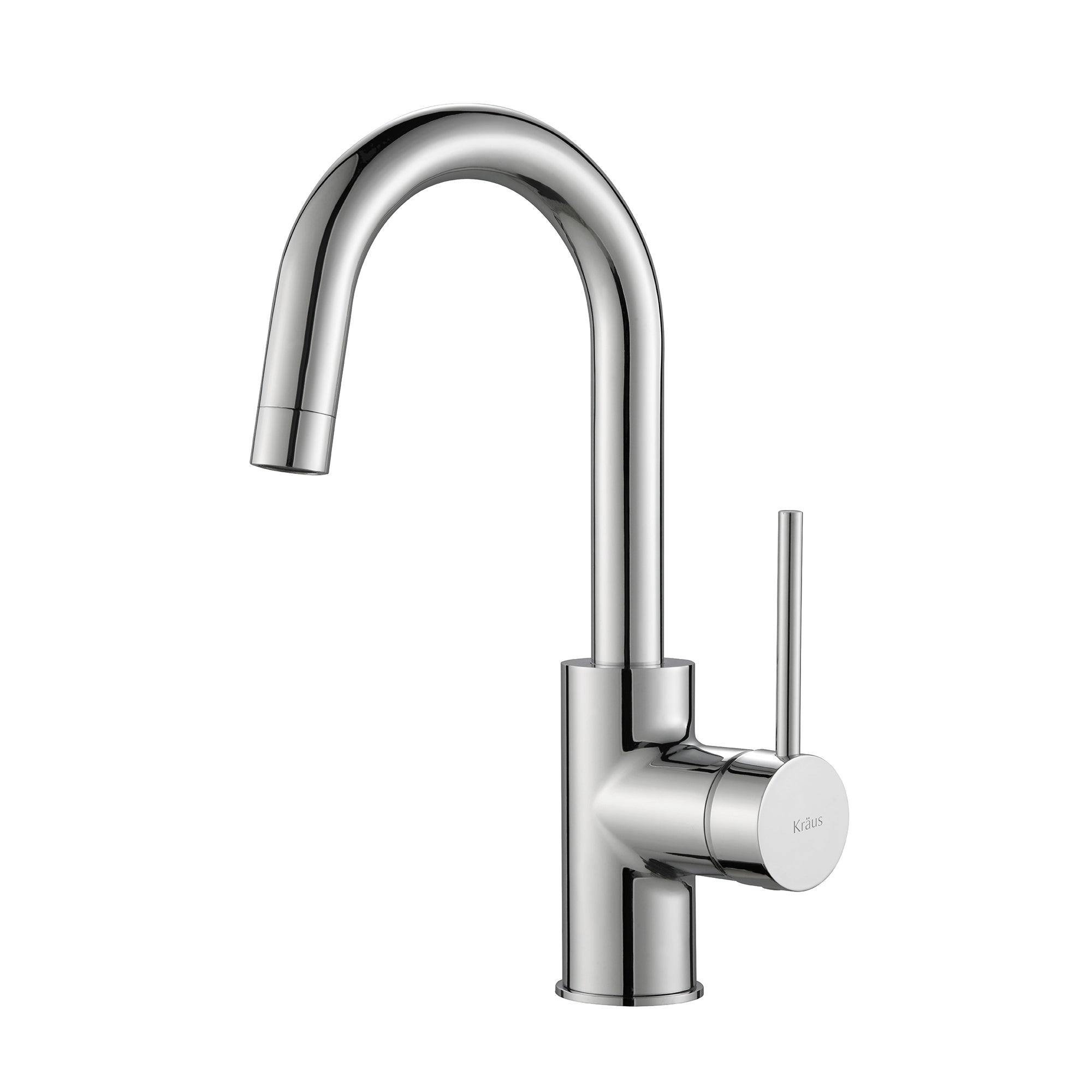 Shop KRAUS Oletto Single-Handle Pull-Down Kitchen Faucet and Bar ...