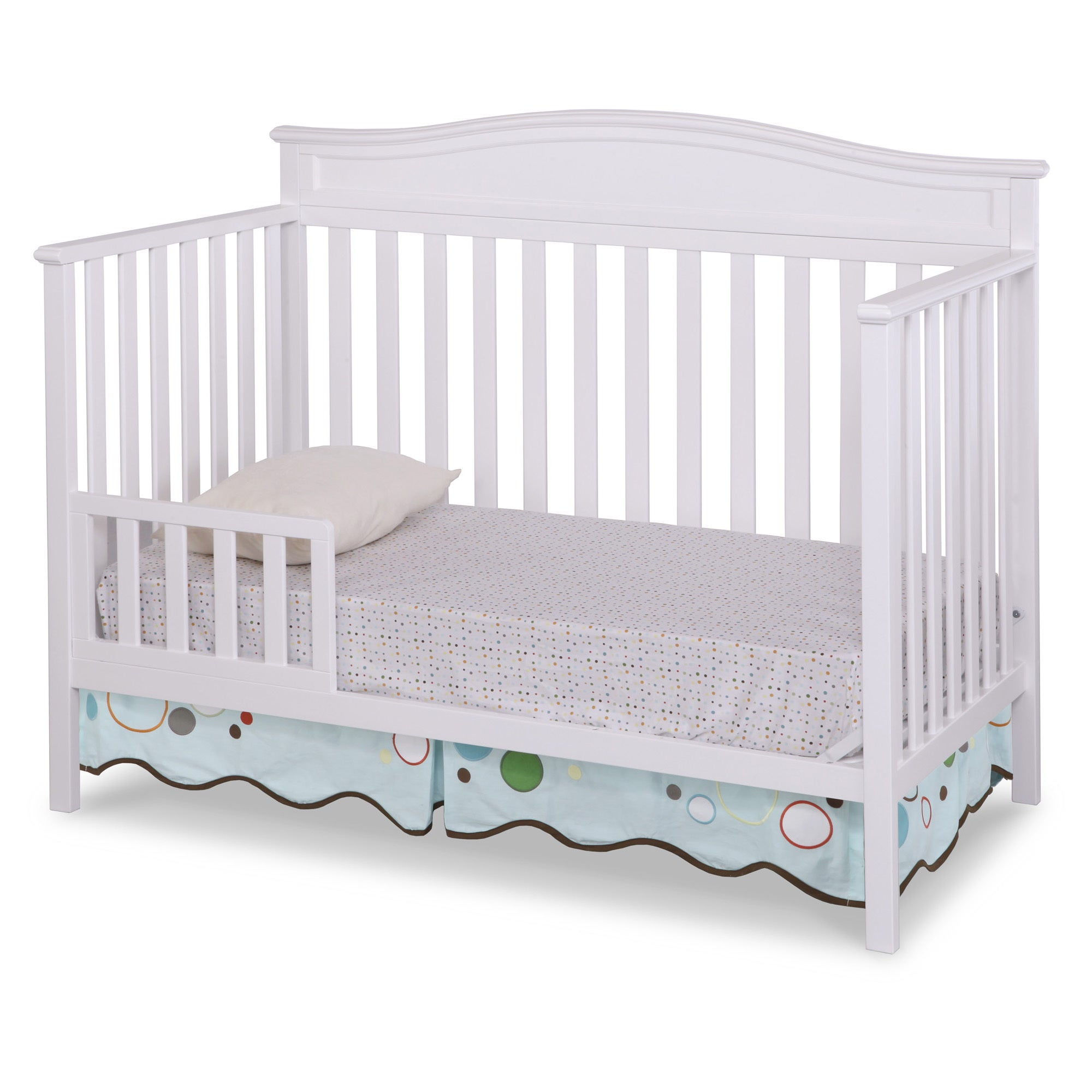 Delta Children Larkin 4 In 1 Crib   Free Shipping Today   Overstock    17626568