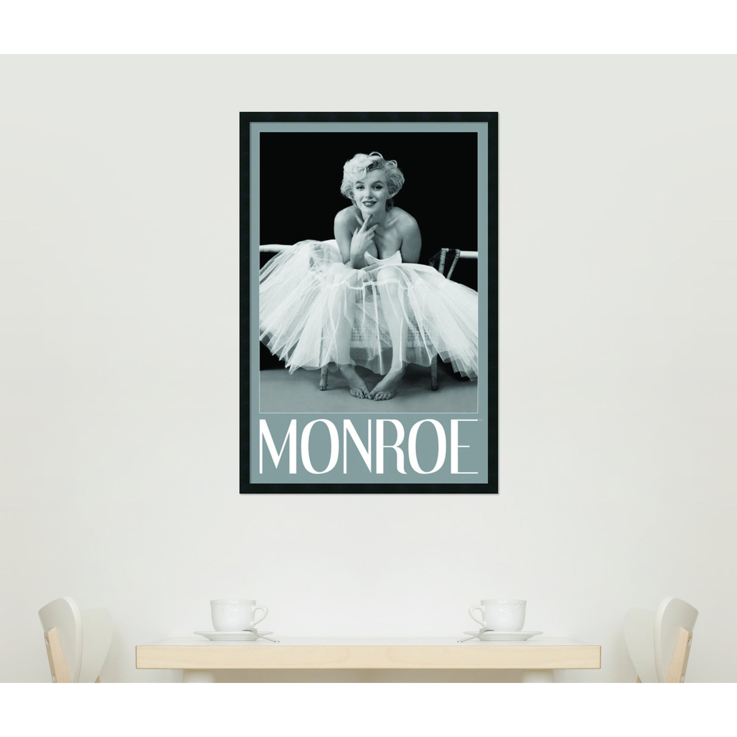 Shop Framed Art Print Marilyn Monroe - Ballerina by Milton H. Greene ...