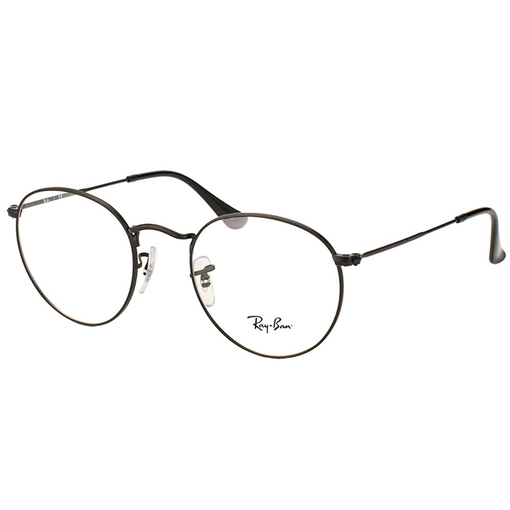 cf53ca6f58 Shop Ray Ban Unisex RX 3447V 2503 50mm Matte Black Round Metal Eyeglasses -  Ships To Canada - Overstock.ca - 10547872