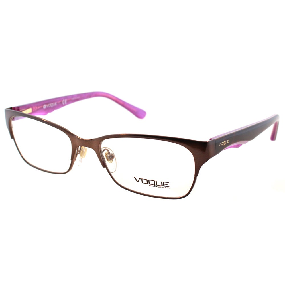 2ff17e6594 Shop Vogue Eyewear Women s VO 2814 2019 51mm Havana on Violet Pearl Plastic  Eyeglasses - Free Shipping Today - Overstock - 10547896
