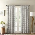 Madison Park Ella Curtain Panel Pair with Tiebacks
