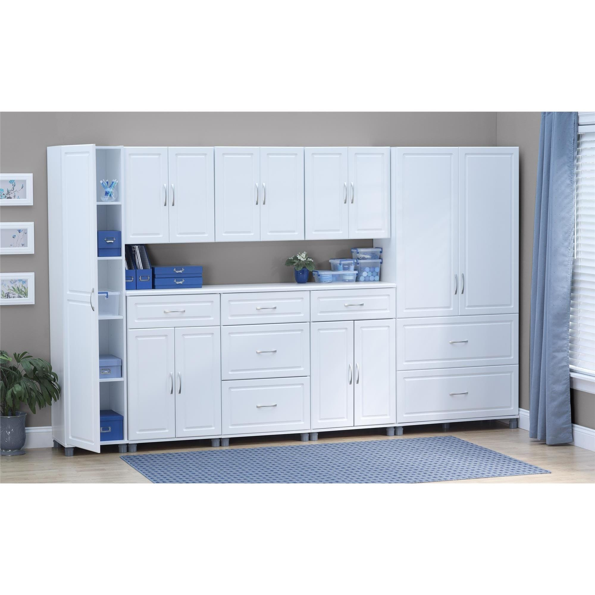 Systembuild White Kendall 24 Inch 1 Drawer 2 Door Base Storage Cabinet Free Shipping Today 17632809