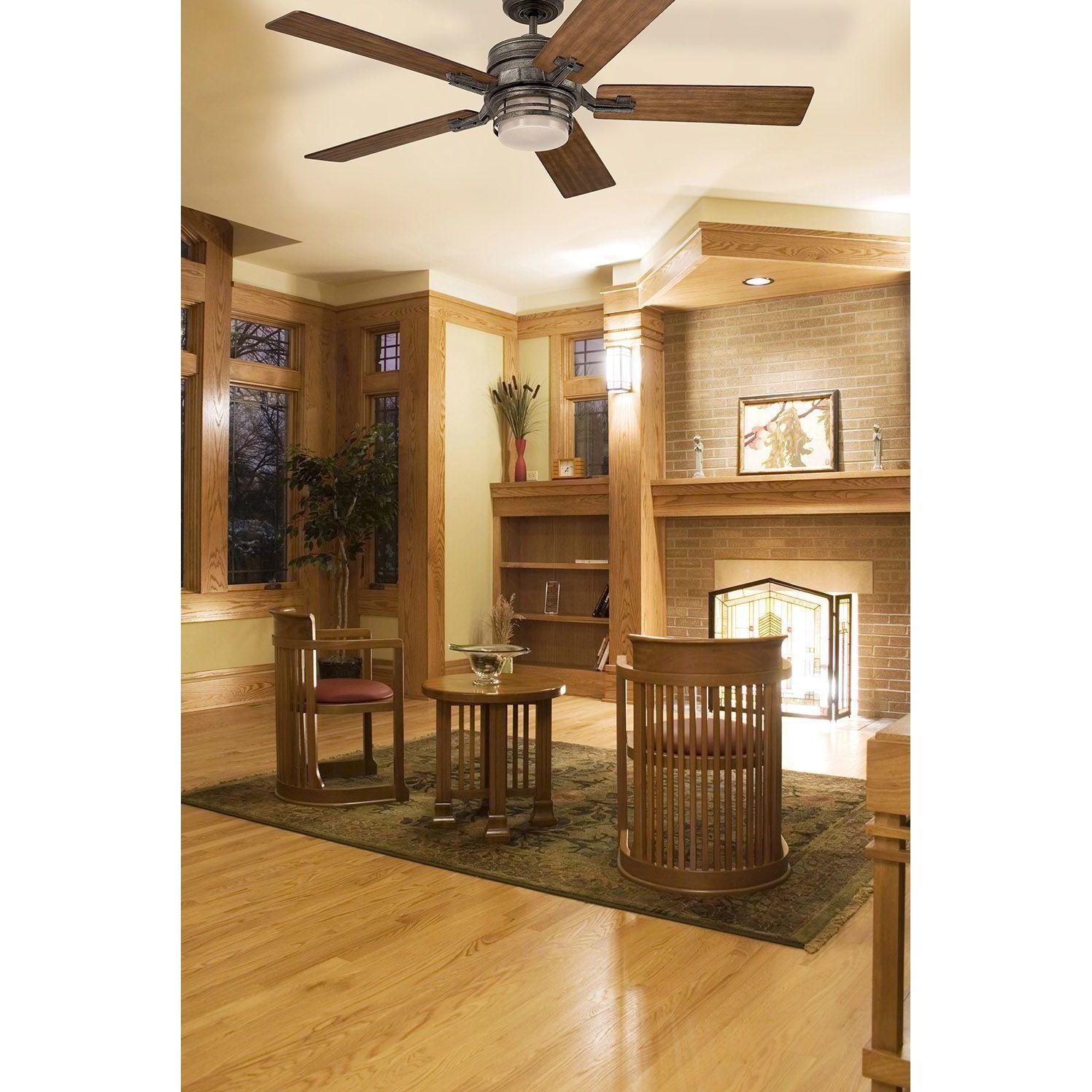 Emerson Amhurst 54 inch Vintage Steel Transitional Ceiling Fan