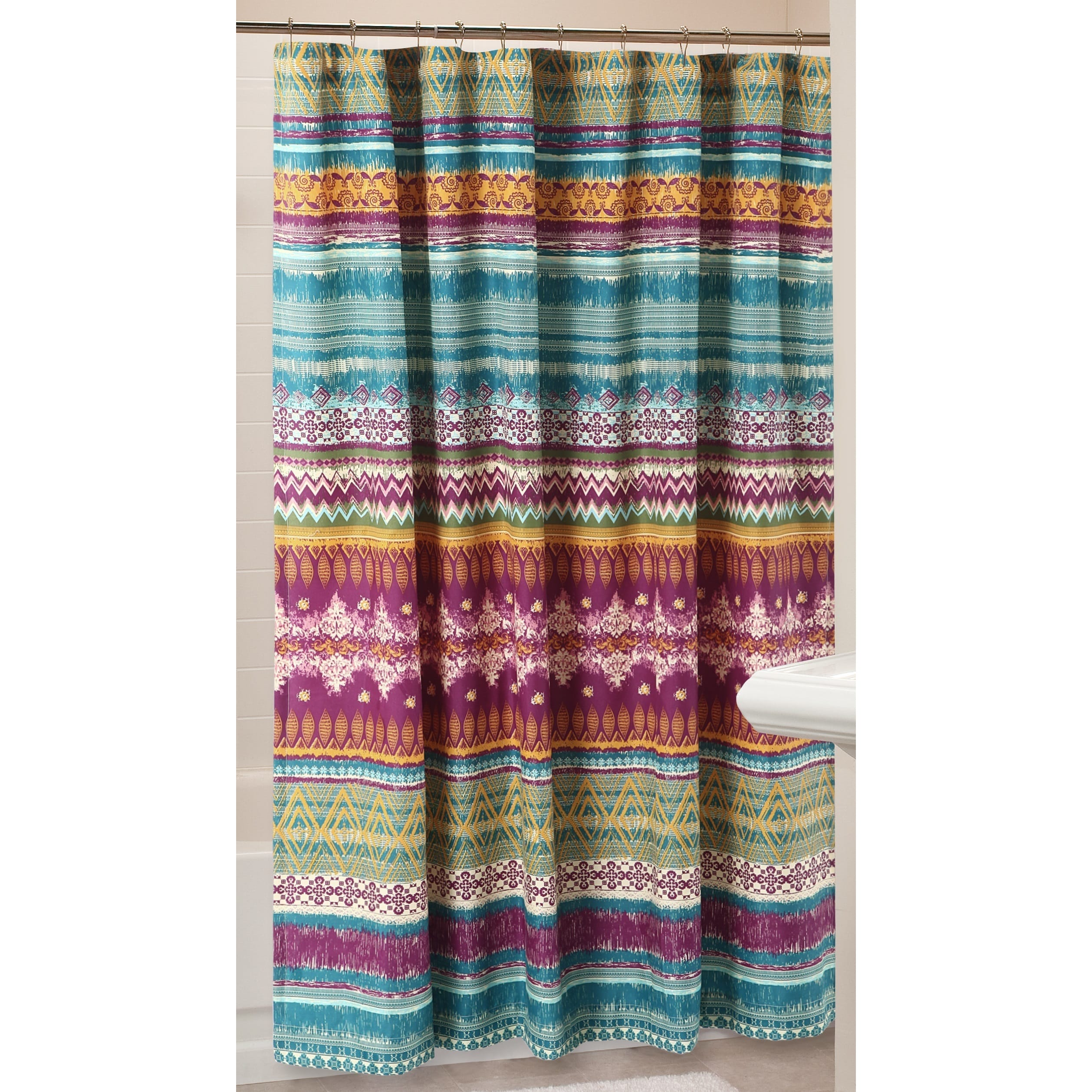 Shop Greenland Home Fashions 72 Inch Southwest Shower Curtain