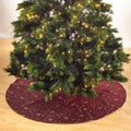 Embroidered & Sequined Tree Skirt