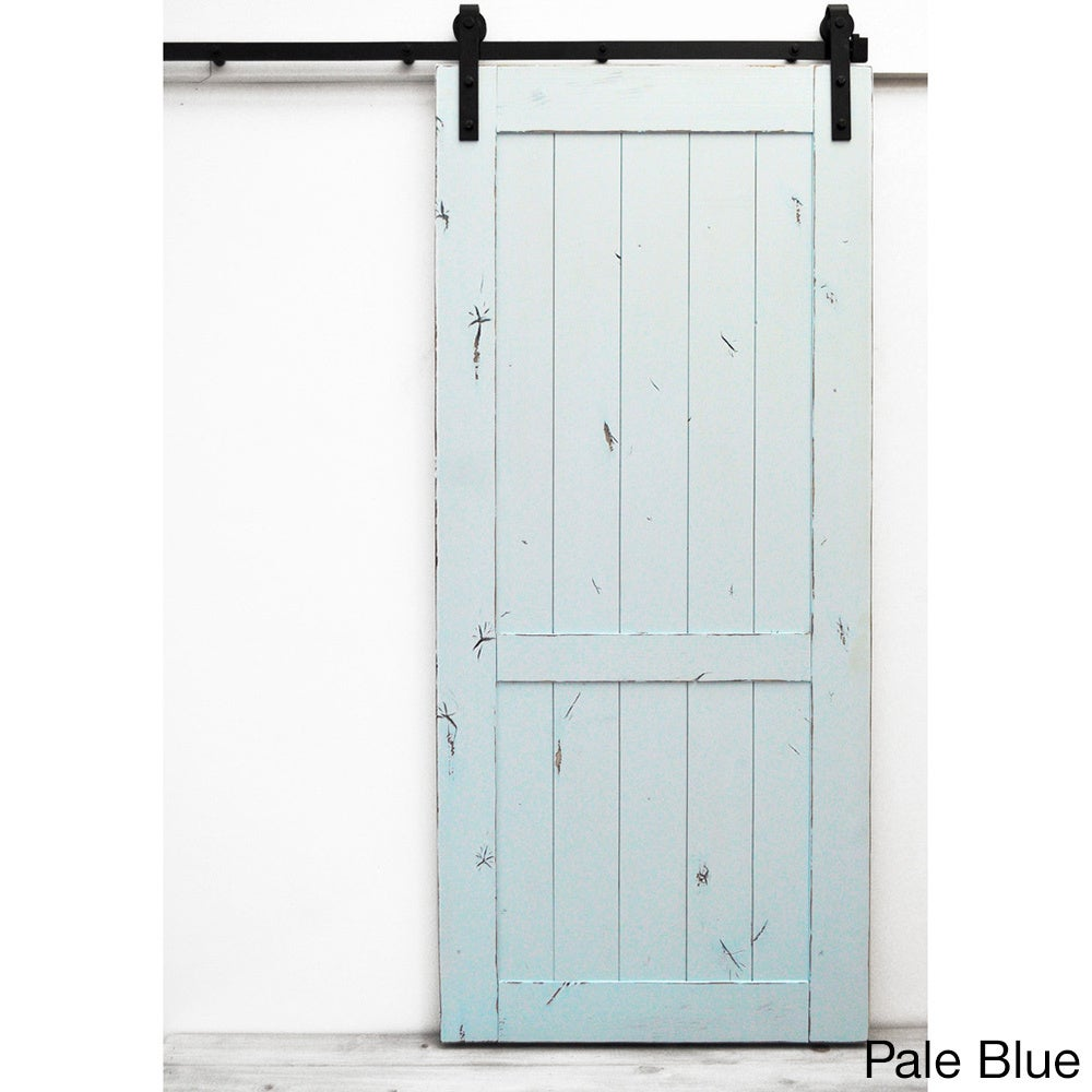Dogberry Country Vintage 96 Inch Barn Door Free Shipping Today 10559996