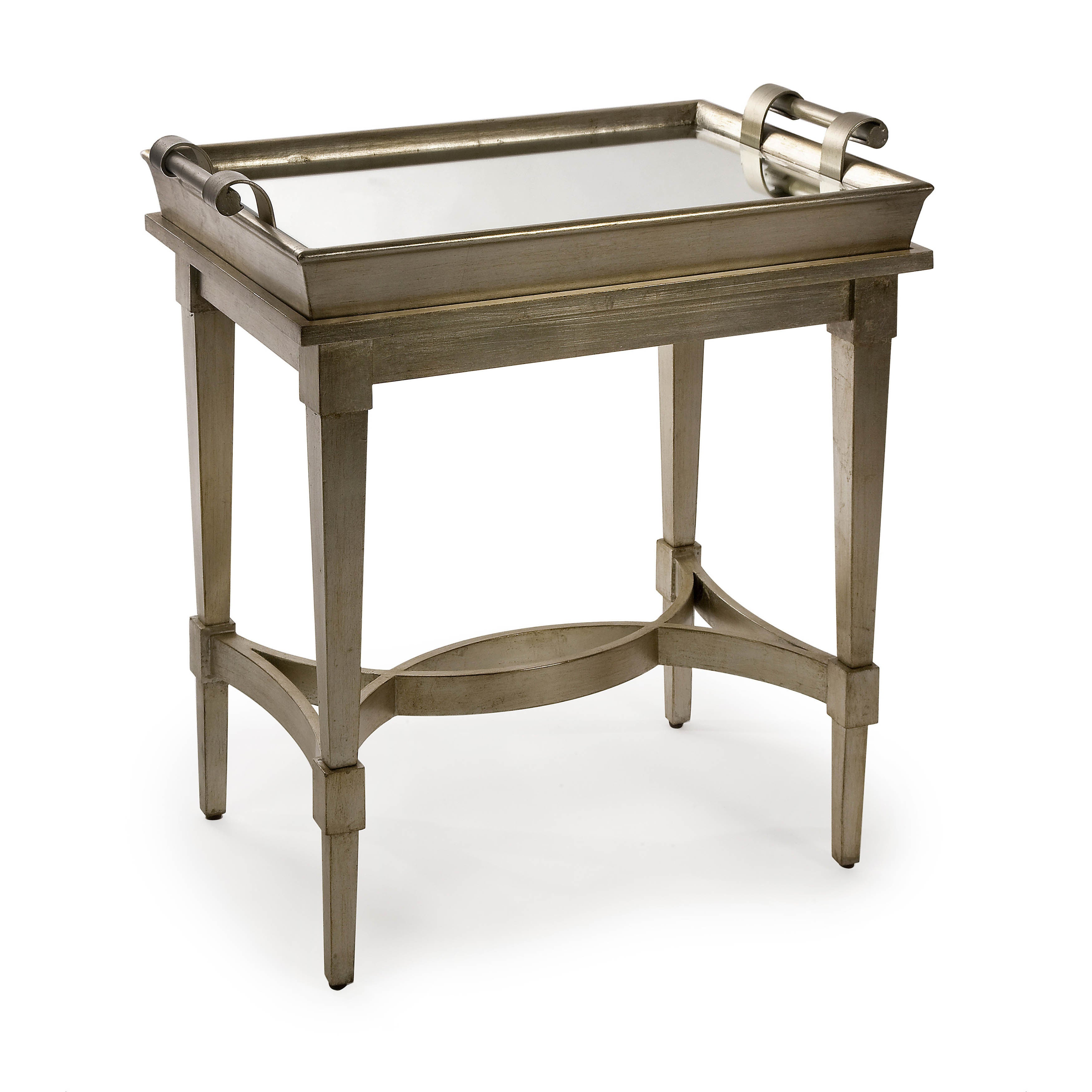 Attirant Shop Magnificent Luna Tray Top Table   Free Shipping Today   Overstock.com    10562212