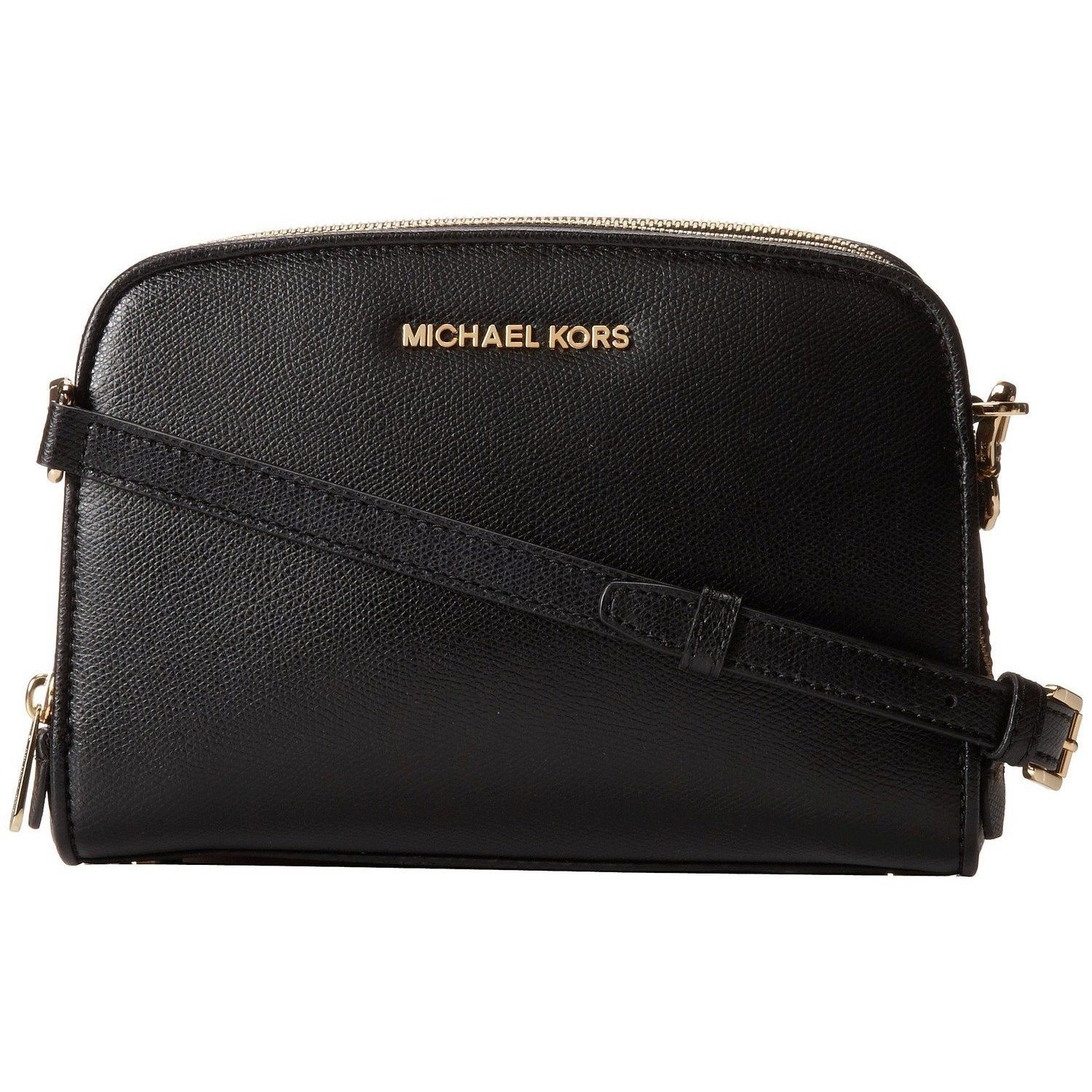f7101621d815 Shop Michael Kors Reese Black Medium Messenger Bag - Free Shipping Today -  Overstock - 10562324