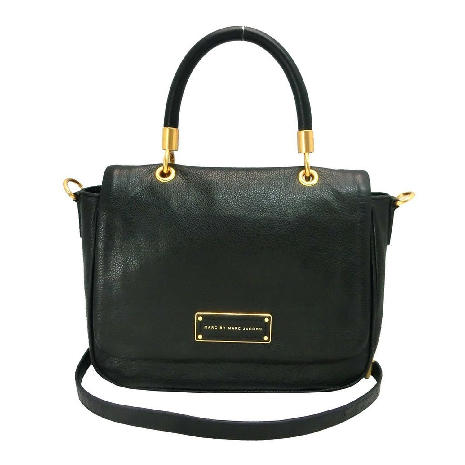 262b4239324 Shop MARC BY MARC JACOBS Small Too Hot To Handle Black Leather Tote ...