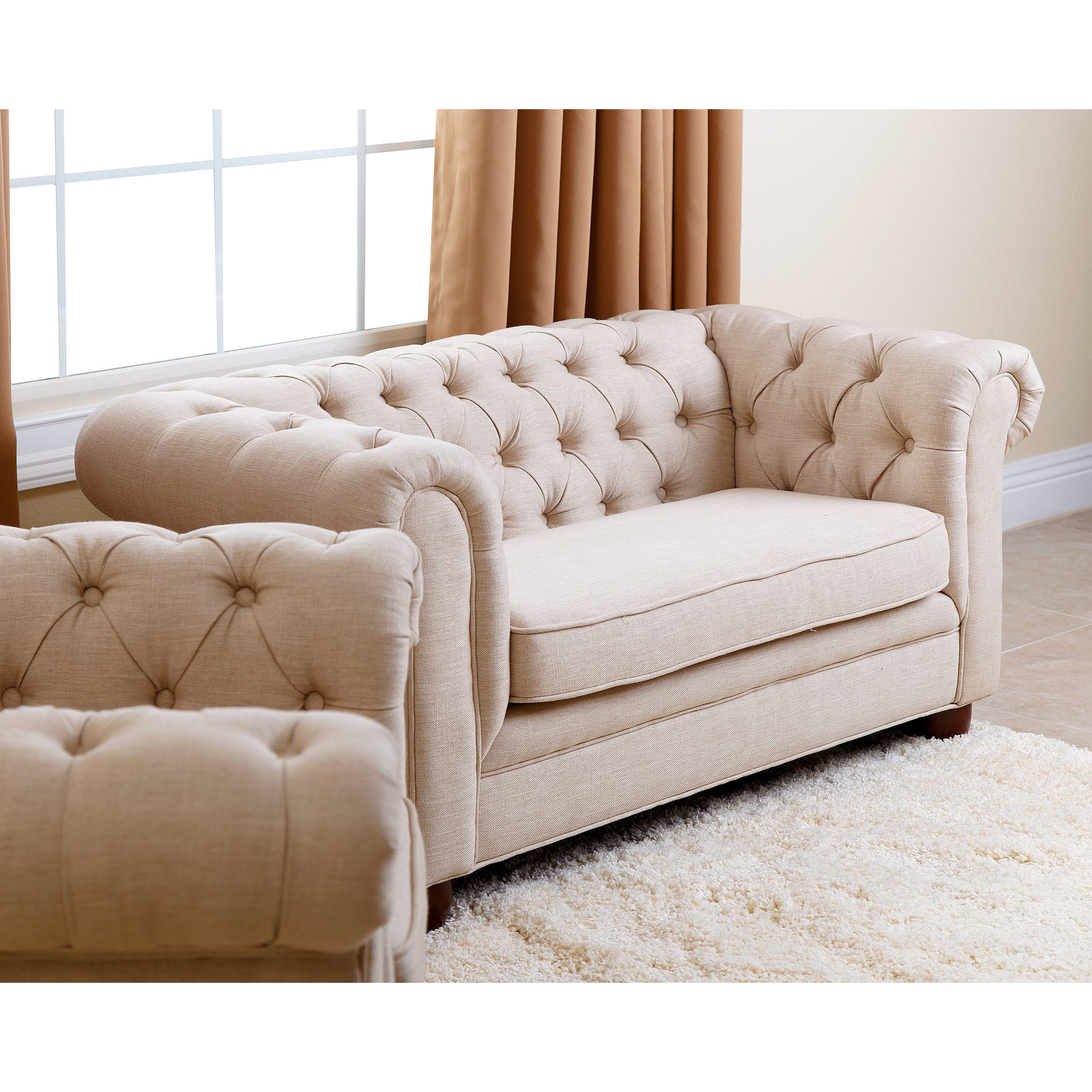 overstock today free sized abbyson sofa antique living mini shipping product garden home kid couch kids velvet rj brown chesterfield